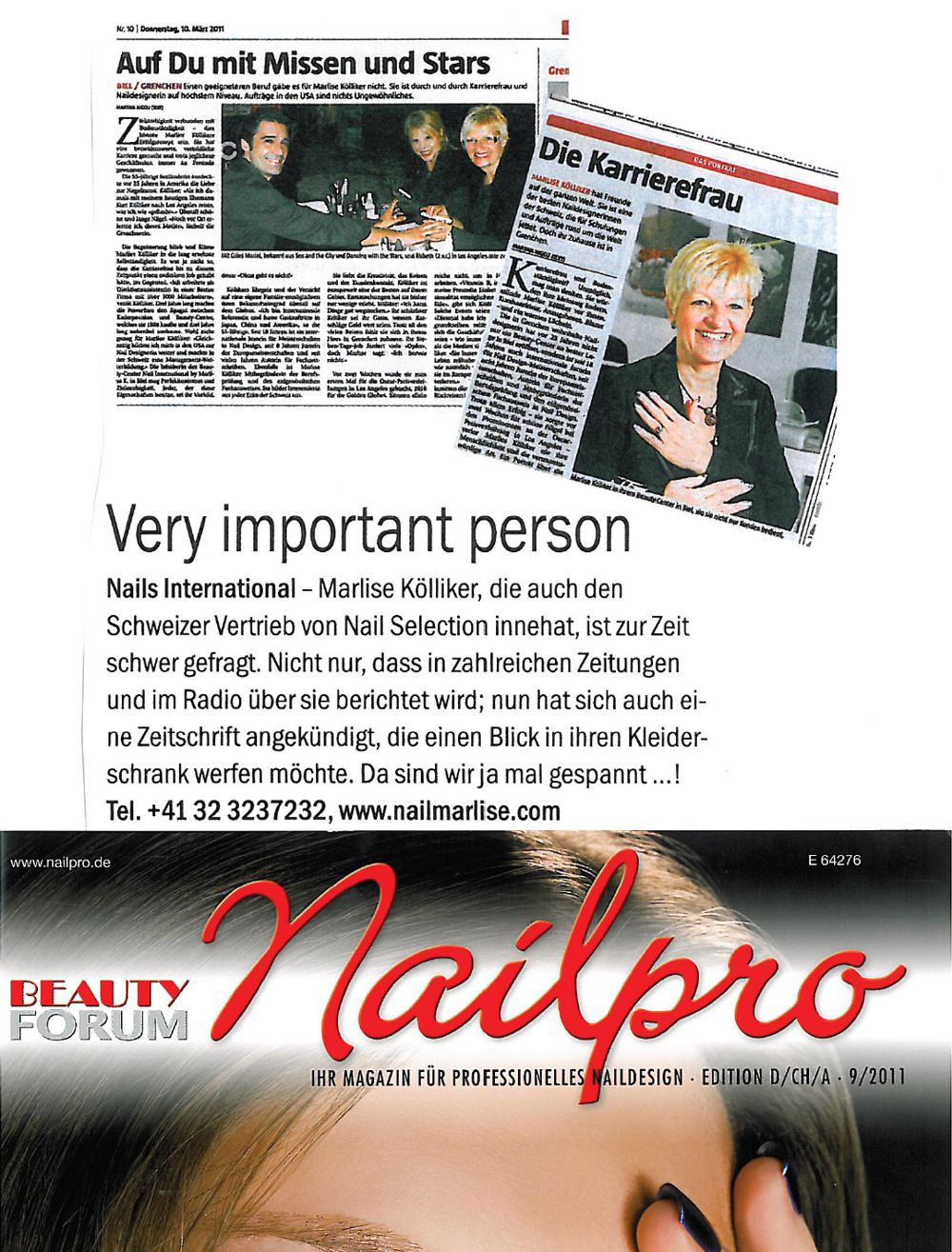 Nailpro vom September 2011