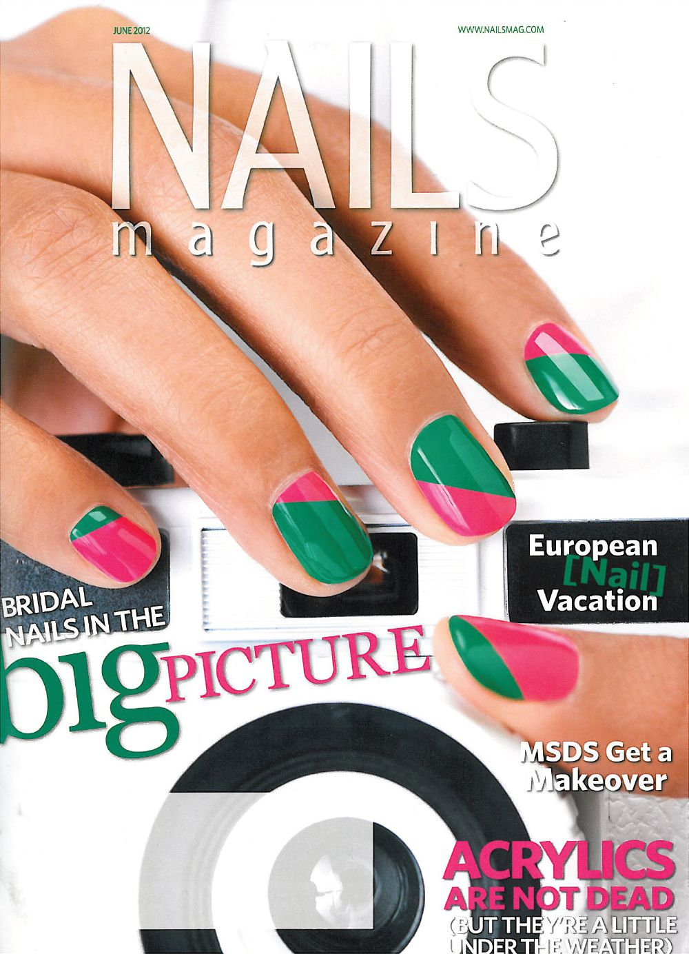 Nails magazine USA vom Juni 2012